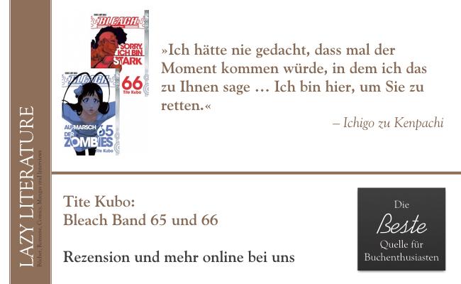 Tite Kubo – Bleach Band 65 und 66 Zitat