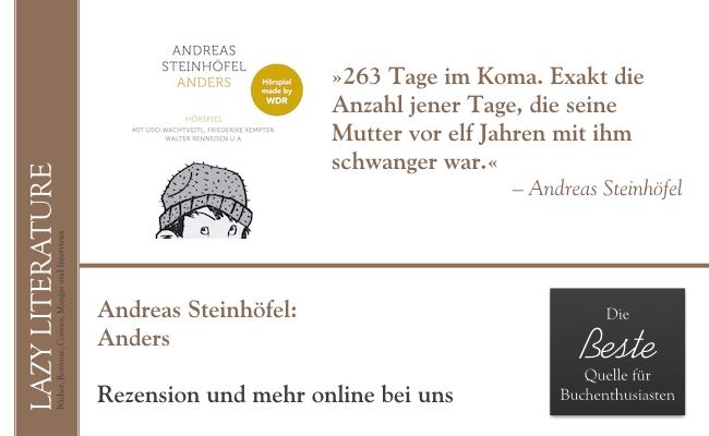 anders das hrspiel andreas steinhfel lazy literature - Andreas Steinhofel Lebenslauf