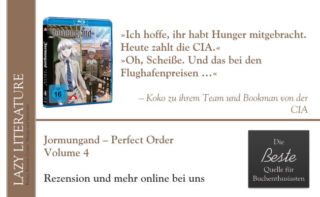 Jormungand – Perfect Order Vol. 4 Zitat