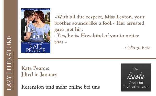 Kate Pearce – Jilted in January Zitat