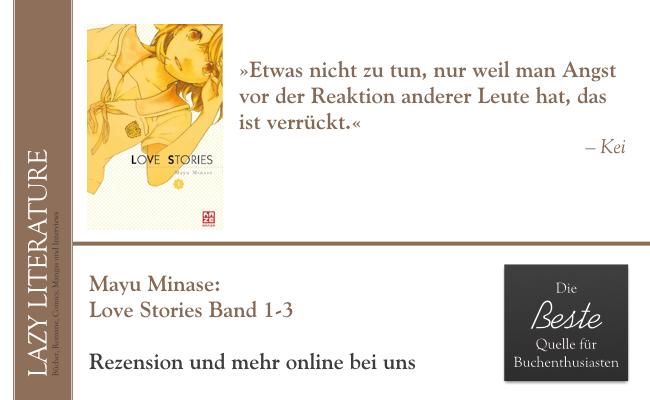 Mayu Minase – Love Stories Band 1-3 Zitat