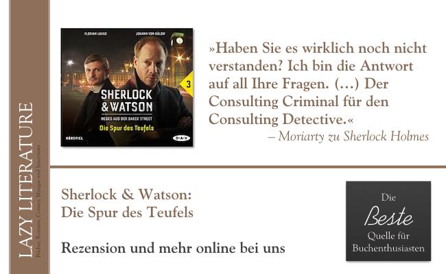 Sherlock & Watson – Teil 3- Die Spur des Teufels Zitat