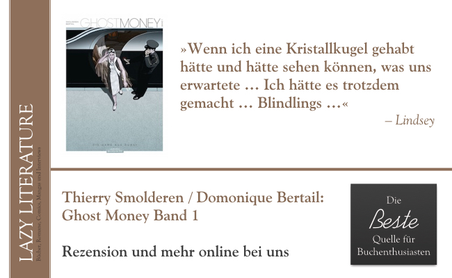 Thierry Smolderen / Dominique Bertail – Ghost Money Band 1 Zitat