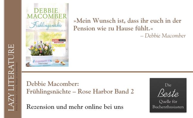 Debbie Macomber – Frühlingsnächte Rose Harbor Band 2 Zitat