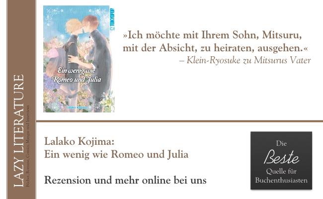 Lalako Kojima – Ein wenig wie Romeo und Julia Zitat