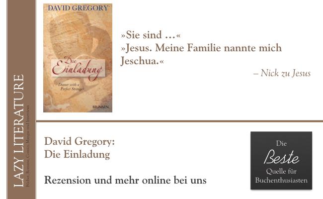 David Gregory – Die Einladung Zitat