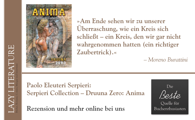 Paolo Serpieri – Serpieri Collection – Druuna Zero Anima Zitat