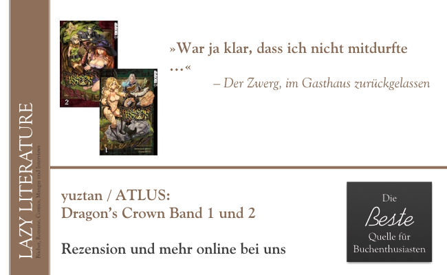 yuztan /ATLUS – Dragon's Crown Band 1 und 2 Zitat