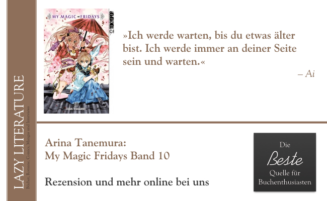 Arina Tanemura – My Magic Fridays Band 10 Zitat