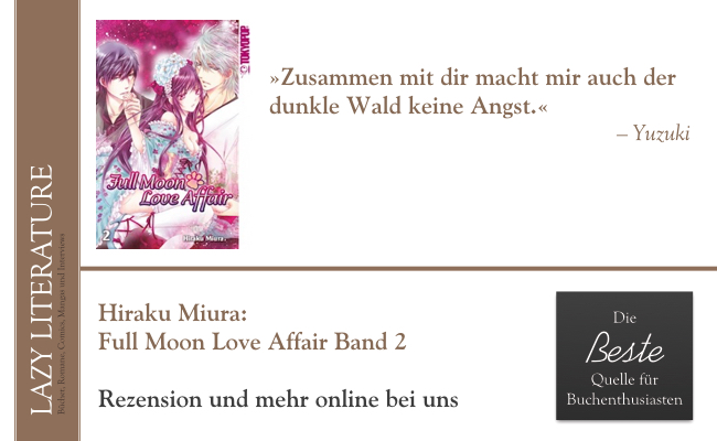 Hiraku Miura – Full Moon Love Affair Band 2 Zitat