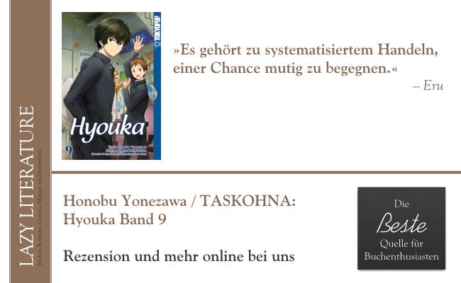 Honobu Yonezawa / TASKOHNA – Hyouka Band 9 Zitat