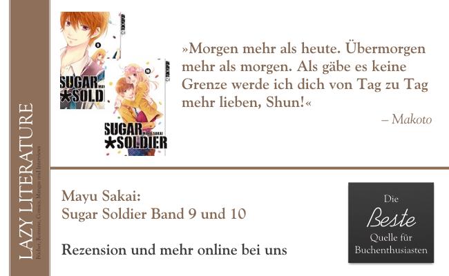 Mayu Sakai – Sugar Soldier Band 9 und 10 Zitat