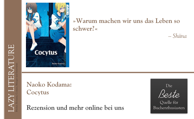 Naoko Kodama – Cocytus Zitat
