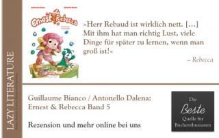 Guillaume Bianco / Antonello Dalena – Ernest & Rebecca Band 5 Zitat