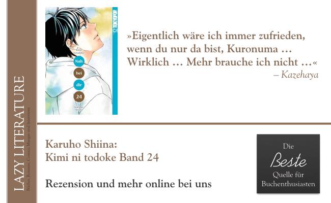Karuho Shiina – Kimi ni todoke Band 24 Zitat