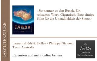 Laurent-Frédéric Bollée / Philippe Nicloux – Terra Australis Zitat