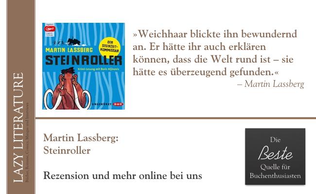 Martin Lassberg – Steinroller Zitat