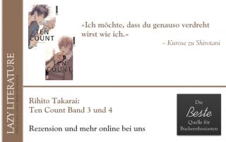 Rihito Takarai – Ten Count Band 3 und 4 Zitat