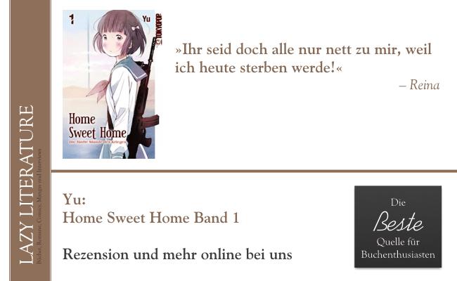 Yu – Home Sweet Home Band 1 Zitat