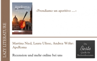 Martina Nied, Laura Ulisse und Andrea Wöhr – ApeRoma Zitat