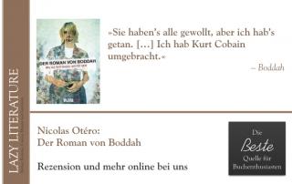 Nicolas Otéro – Der Roman von Boddah Zitat