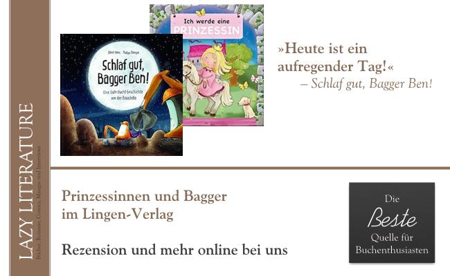 Prinzessinnen und Bagger im Lingen Verlag August 2016 Zitat