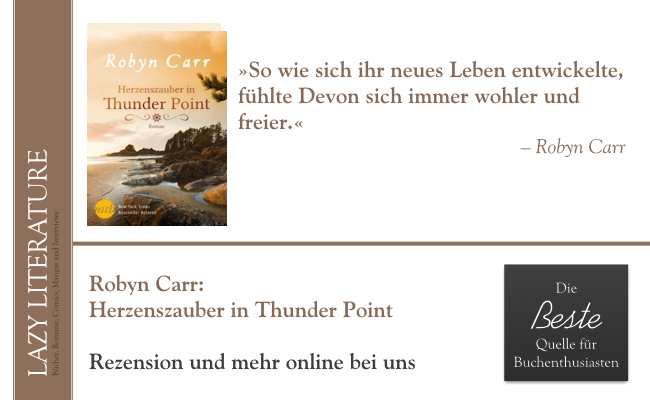Robyn Carr – Herzenszauber in Thunder Point Zitat
