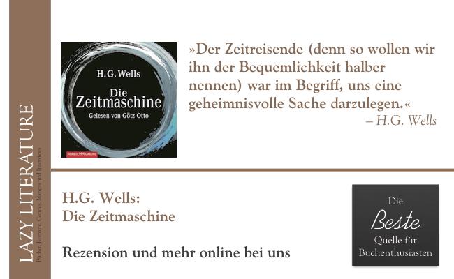 HG Wells – Die Zeitmaschine Zitat