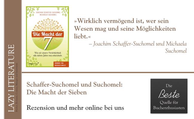 Joachim Schaffer-Suchomel und Michaela Suchomel – Die Macht der Sieben Zitat