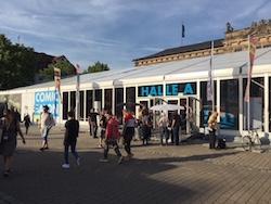 Halle A Comicsalon Erlangen 2018